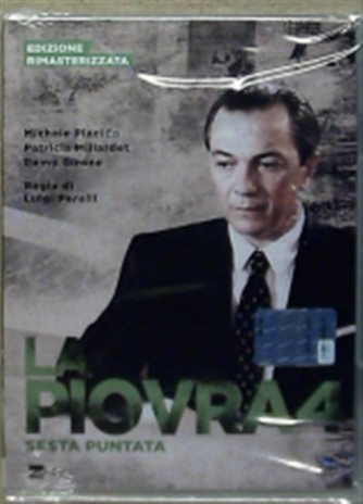 DVD La Piovra 4 - Sesta puntata - Ed. Rimasterizzata