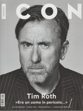 Panorama Icon: uomini e stili - mensile n. 41 Marzo 2018 TIM ROTH