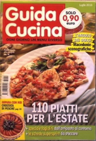 Guida Cucina - mensile pocket n. 7 Luglio 2016 - Pesce spada alle vongole
