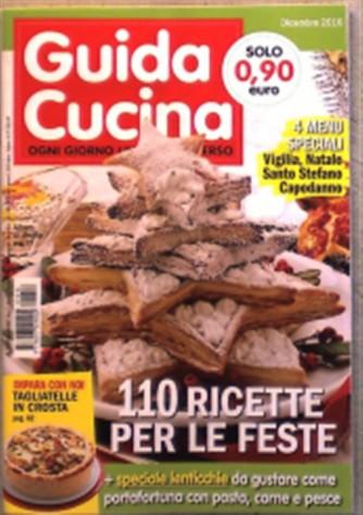 Guida Cucina - mensile pocket n. 12 Dicembre 2016 - Albero di sfoglia