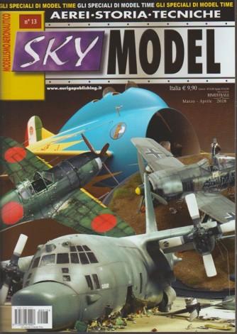 Sky Model - bimestrale n.13 Marzo 2018 - modellismo aeronautico