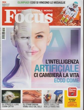 Focus - mensile n. 304 Febbraio 2018 Scioprire e capire il mondo