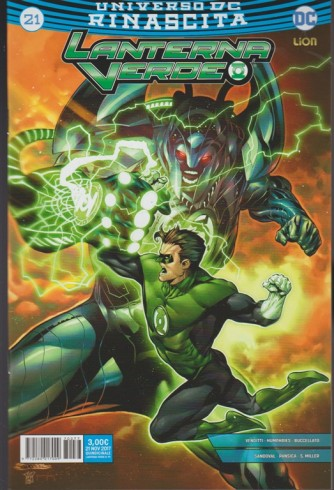 LANTERNA VERDE 21 (99)  - Universo DC Rinascita - DC Lion