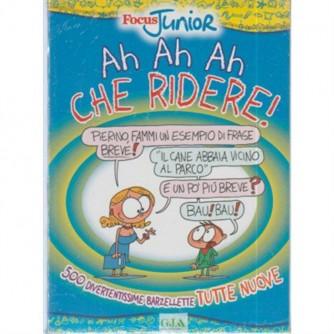 "Ah Ah Ah che ridere ""500 divertentissime barzellette"" by Focus Junior vol.1"
