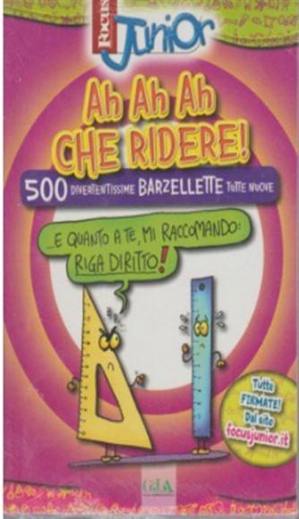 "Ah Ah Ah che ridere ""500 divertentissime barzellette"" by Focus Junior vol.2"