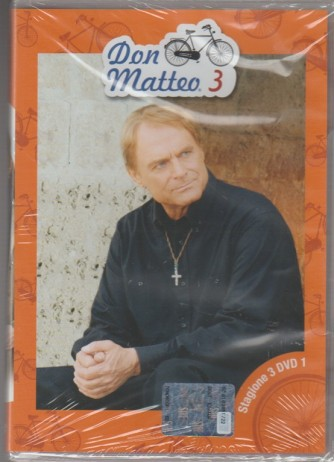 1° DVD - Don Matteo: stagione 3 - Therence Hill