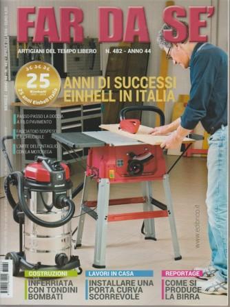 Far da Sè - mensile n. 482 Aprile 2018 Einhell in Italia: 25 anni di successi