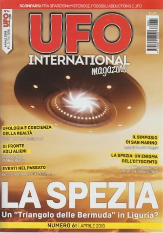 Ufo International Magazine - mensile n. 61 Aprile 2018 il Simposio di San Marino