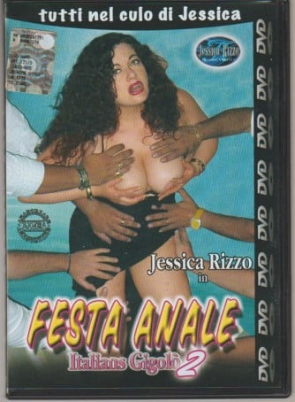 DVD XXX -Jessica Rizzo in Festa anale: Italian Gigolò 2