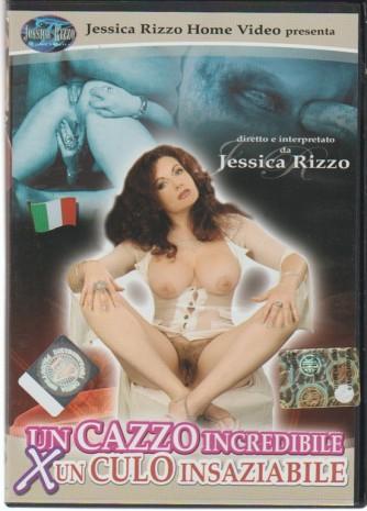 DVD XXX - Un cazzo incredibile x un culo insaziabile con Jessica Rizzo