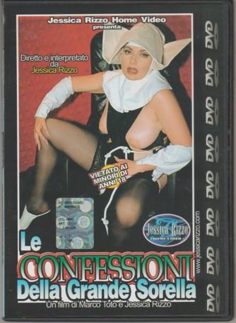 DVD XXX - Le confessioni della Grande Sorella - con Jessica Rizzo