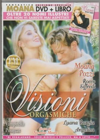 DVD XXX - Moana Pozzi: Visioni orgasmiche + libro Moana: amori e segreti