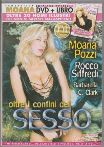 DVD XXX - Moana Pozzi: Oltre i confini del sesso + libro Moana: amori e segreti