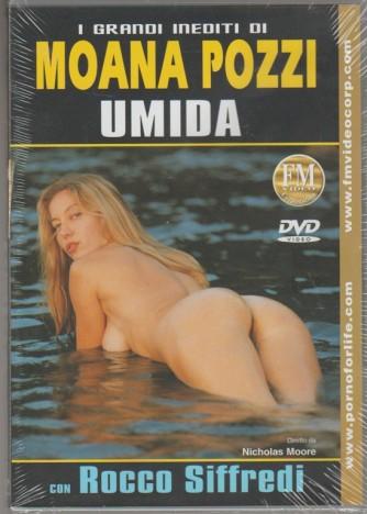 DVD XXX - Moana Pozzi: Umida con Rocco Siffredi diretti da Nicholas Moore