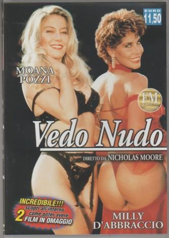 DVD XXX - Moana Pozzi: Vedo nudo con Milly D'Abbraccio diretti da Nicholas Moore