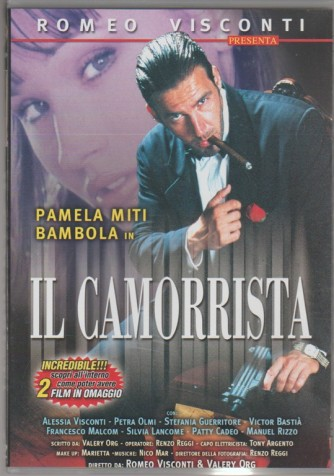 DVD XXX-Pamela Miti Bambola in Il Camorrista regia Romeo Visconti & Valery Org