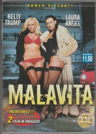 DVD XXX - Malavita con Kelly trump & Laura Angel diretto da Romeo Visconti