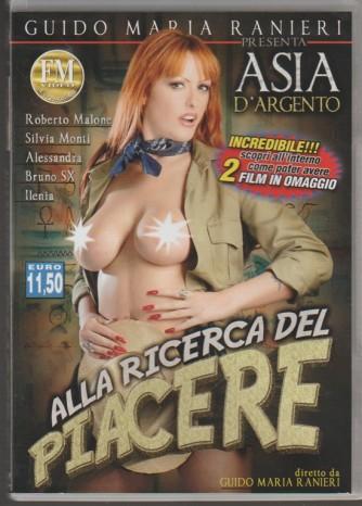 DVD XXX - Alla ricerca del piacere c/Asia D'Argento regia Guido Maria Ranieri