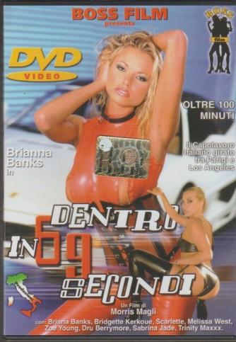 DVD XXX - Dentro in 69 secondi con Brianna Banks regia Morris Magli
