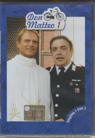 3° DVD - Don Matteo: stagione 1 - Therence Hill