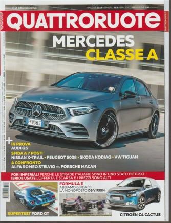 Quattroruote - mensile n. 753 Maggio 2018 Mercedes Classe A