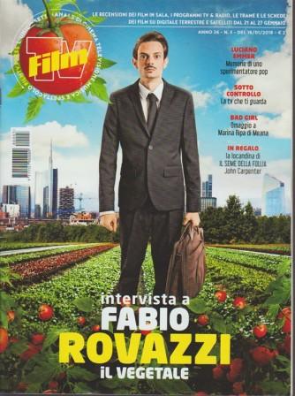 Film Tv - settimanale n. 3 - 16 Gennaio 2017 - Fabio Rovazzi: il Vegetale