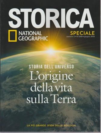 Storica Speciale Storia dell'universo. n. 1 - giugno 2018 -periodicità bimestrale