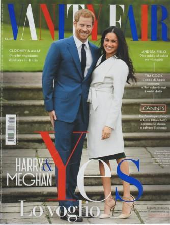 Vanity Fair n. 20 - 23 maggio 2018 - settimanale