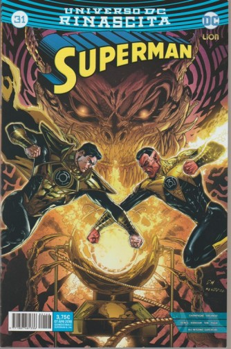 SUPERMAN #31 (146) - Universo DC Rinascita - DC Lion