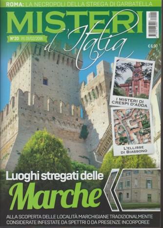 Misteri d'Italia - mensile n. 20 Febbraio 2018 Luoghi Stregati delle Marche
