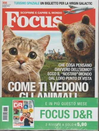 Focus - mensile n. 308 Giugno 2018 + Domande & Risposte n. 56