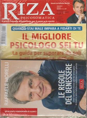 Riza Psicosomatica - mensile n.447 - maggio 2018+ libro: Le regole del Benessere