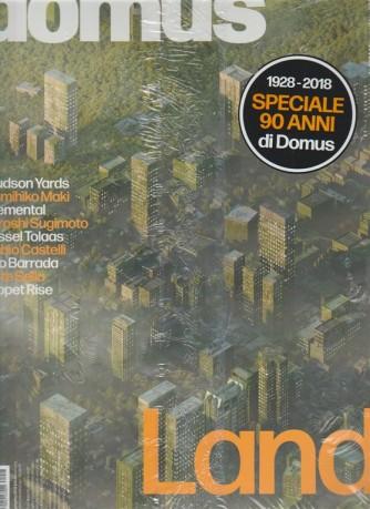 """Domus - Mensile n. 1024 Maggio 2018 + Domus """"Novanta anni"""" - Landscape"""