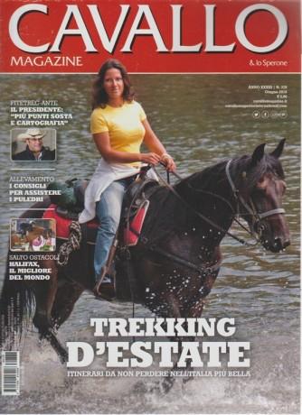 Cavallo & Lo Sperone magazine n. 378 - giugno 2018 - mensile - + Quotidiano nazionale enigmistica
