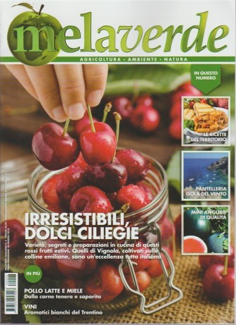Melaverde magazine n. 6 - mensile - giugno 2018 -