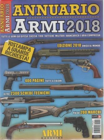 Annuario Armi  2018 - annuale - 29 maggio 2018 -