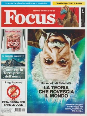 Focus - mensile n. 276 Ottobre 2015 - Un secolo di relatività