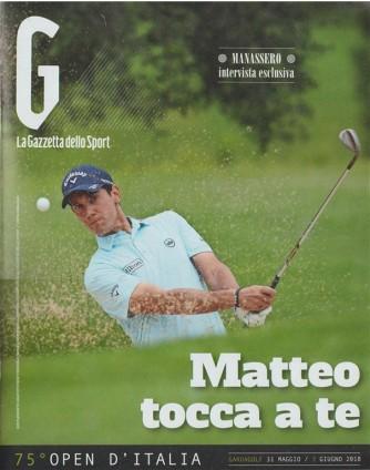 G - speciale La Gazzetta dello Sport: 75° Open d'Italia
