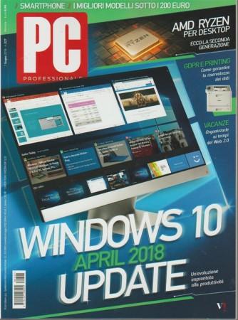 Pc Professionale - mensile n. 327 Giugno 2018 Windows 10 April 2018 Update