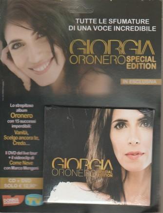 Cd Sorrisi Canzoni - Giorgia Oronero - Cd + dvd - settimanale -