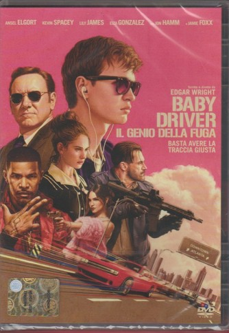 DVD - Baby Driver: il genio della fuga - Basta avere la traccia giusta
