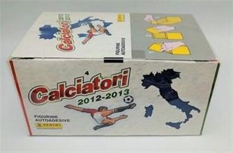 BOX SIGILLATO di 100 BUSTINE CALCIATORI PANINI Campionato Calcio 2012-2013