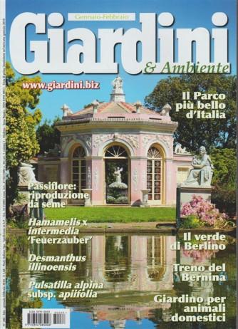 Giardini & Ambiente - bimestrale n. 288 Gennaio 2018 il Parco più bello d'Italia