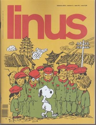 Linus - mensile n. 2 Febbraio 2018