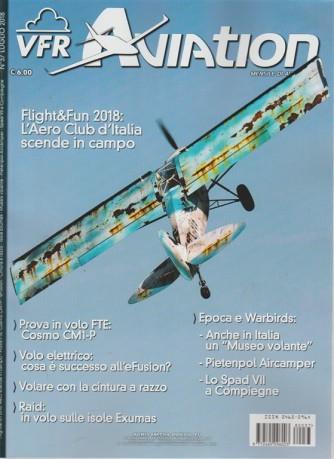 Vfr Aviation - n. 37 - luglio 2018 - mensile