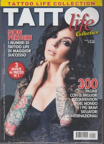 Supplemento Tattoo life collection - 112 - maggio - giugno 2018 - 3 riviste al prezzo di 1