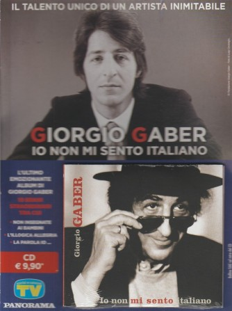 CD - Giorgio Gaber - Io non mi sento italiano by Sorrisi e canzoni TV