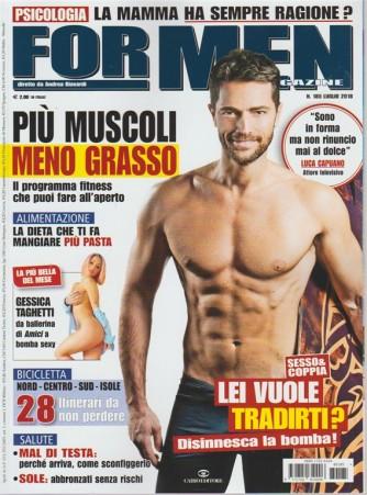 For Men Magazine - n. 185 - luglio 2018 - mensile