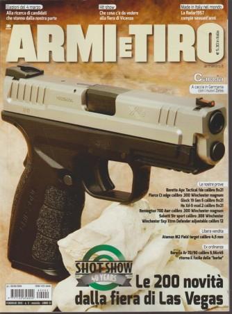 Armi e Tiro - mensile n. 2 Febbraio 2018 le 200 novità della fiera di Las Vegas