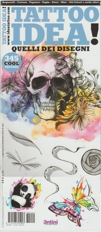 Tattoo idea! - trimestrale n. 220 Luglio 2018 - 365 cool tattoos